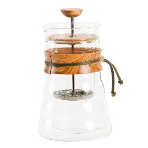 Doppelwand French Press Hario Olive